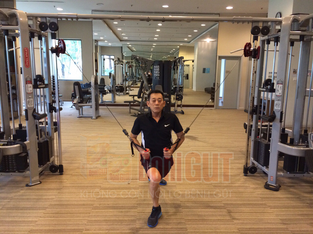 Hành trình đẩy lùi bệnh gút và đến với phòng tập gym ở tuổi 62